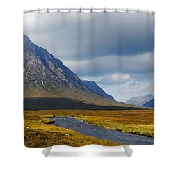 Shower Curtain featuring the photograph The River Runs Through It by Wendy Wilton