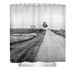 The Road Home Shower Curtain by Jeff Burton