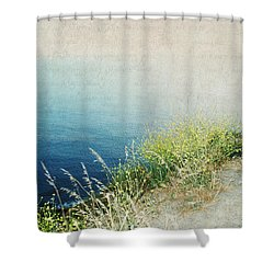 The Road Less Travelled Shower Curtain by Lisa Parrish