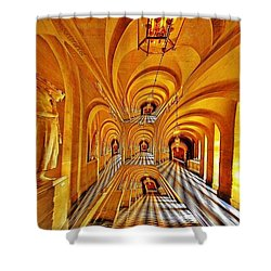 The Road Not Taken  Shower Curtain by Anna Porter