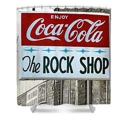 The Rock Shop Shower Curtain