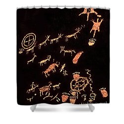 The Rock That Tells A Story 1 Shower Curtain