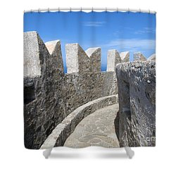 Shower Curtain featuring the photograph The Rocks And The Path by Ramona Matei