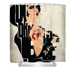 The Rocky Horror Picture Show - Dr. Frank-n-furter Shower Curtain