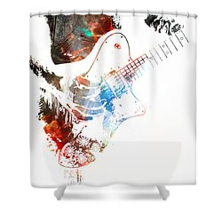 The Roll Of Rock  Shower Curtain
