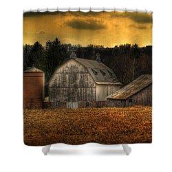 The Rose Farm Shower Curtain