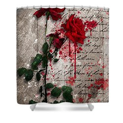 The Rose Of Sharon Shower Curtain by Gary Bodnar