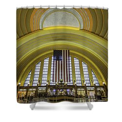The Rotunda Shower Curtain by Keith Allen
