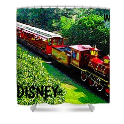 The Roy O. Disney Shower Curtain by David Lee Thompson