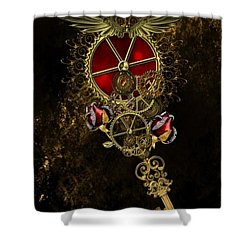 The Royal Key Shower Curtain