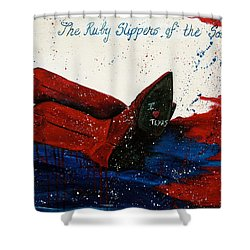 The Ruby Slippers Of The South Shower Curtain