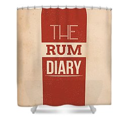 The Rum Diary Shower Curtain