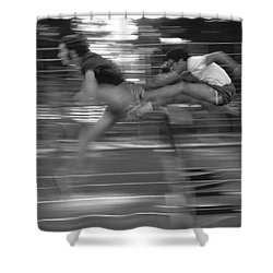 The Runners Shower Curtain