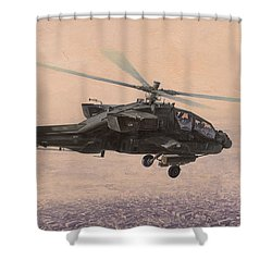 The Sadr City Flying Club Shower Curtain by Wade Meyers