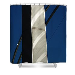 The Sail Sculpture  Shower Curtain