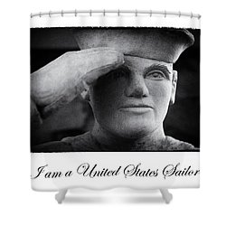 The Sailors Creed Shower Curtain