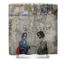 The Samaritan Woman At The Well Shower Curtain