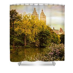 Shower Curtain featuring the photograph The San Remo by Jessica Jenney