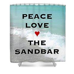 Shower Curtain featuring the photograph The Sandbar Restaurant Anna Maria Island by Margie Amberge