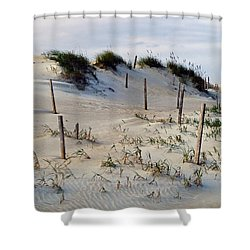 The Sands Of Obx II Shower Curtain