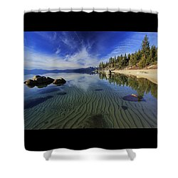 Shower Curtain featuring the photograph The Sands Of Time by Sean Sarsfield