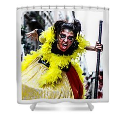 Shower Curtain featuring the photograph The Scream Crusher by Stwayne Keubrick