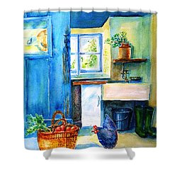The Scullery  Shower Curtain