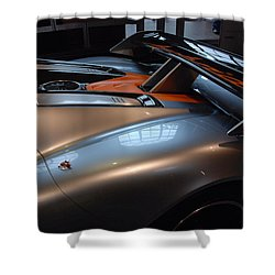 The Sculptured Rear 918 R S R Shower Curtain