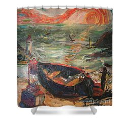 The Sea Of Cortez Shower Curtain by Avonelle Kelsey