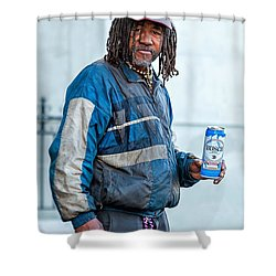 The Second Most Interesting Man In The World  Shower Curtain by Steve Harrington
