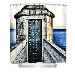 The Secret Door Shower Curtain
