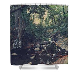 The Secret Spot Shower Curtain by Laurie Search