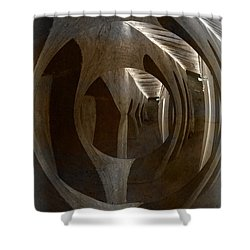 The Secrets Of The Admiral Hotel In Copenhagen Shower Curtain by Angela A Stanton
