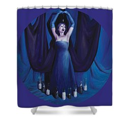The Seer Shower Curtain by Shelley Irish