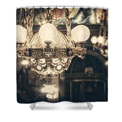 The Senate Chandeliers  Shower Curtain by Lisa Russo