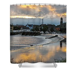 Shower Curtain featuring the photograph The Shannon River by Brenda Brown