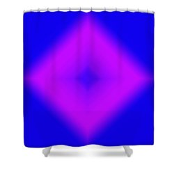 Shape Of Attraction Shower Curtain