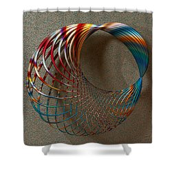 The Shape Of Things To Come Shower Curtain