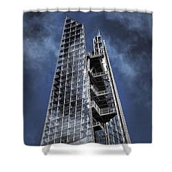 The Shards Of The Shard Shower Curtain by Rona Black