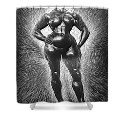 The She Force 1 Shower Curtain