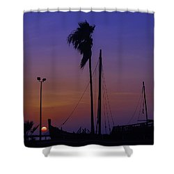 Shower Curtain featuring the photograph The Ship by Leticia Latocki