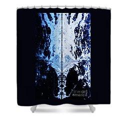 The Shroud Of Glacier Bay Shower Curtain by Marcus Dagan