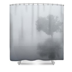 The Silence Is Deafening Shower Curtain
