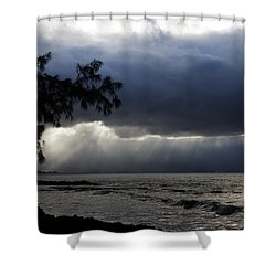 The Silver Lining Shower Curtain