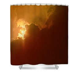 Shower Curtain featuring the photograph The Simple Beauty Of Light by Kellice Swaggerty