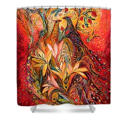 The Sirocco Shower Curtain by Elena Kotliarker