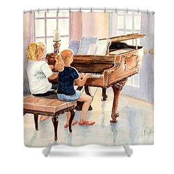 The Sister Duet Shower Curtain