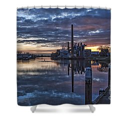 The Sky Is Crying Shower Curtain