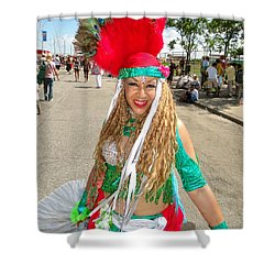 Shower Curtain featuring the photograph The Smile by Ed Weidman