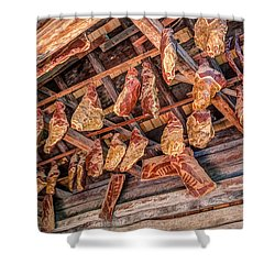 The Smokehouse Shower Curtain